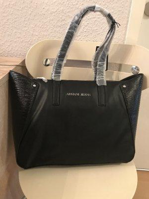 Armani Jeans Tasche Henkeltasche Schultertasche black schwarz B5263 W5 12 NEU