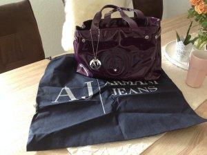 Armani Jeans Tasche lila