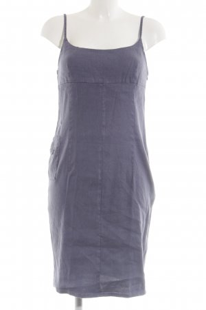 Armani Jeans Pinafore dress lilac casual look
