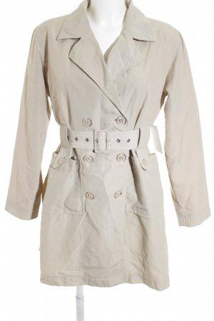 Armani Jeans Trenchcoat creme Casual-Look