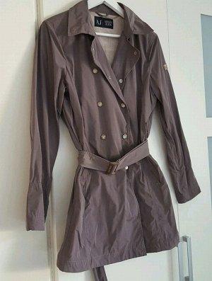 Armani Jeans * Trenchcoat in Khaki mit Gürtel * Größe 42/44