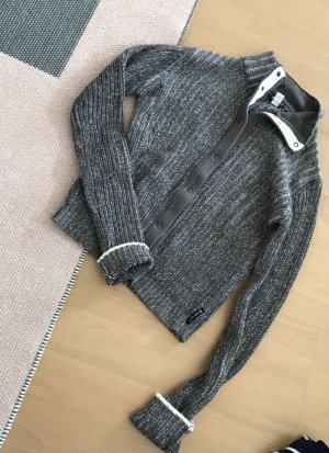 Armani Jeans Troyer Cardigan Strick Knit Pulli 38