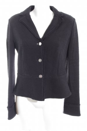 Armani Jeans Tweedblazer schwarz Business-Look