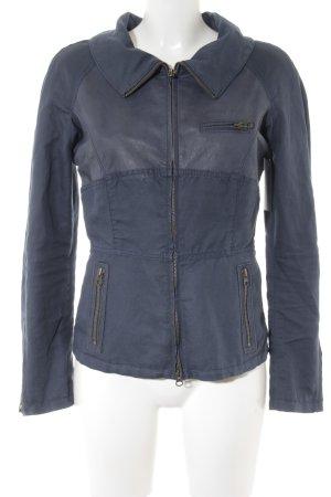 Armani Jeans Übergangsjacke dunkelblau Casual-Look