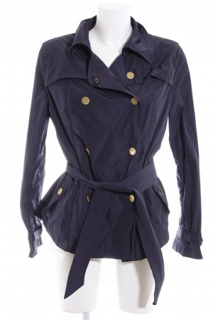 Armani Jeans Übergangsjacke dunkelblau schlichter Stil