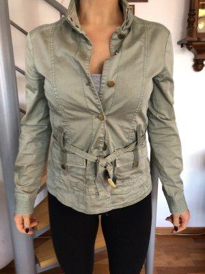 Armani Jeans Chaqueta de entretiempo verde grisáceo