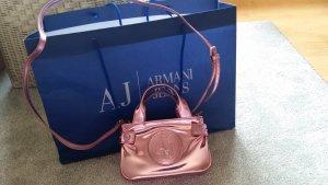 Armani Jeans Umhängetasche metallic