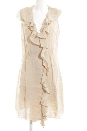 Armani Jeans Volantkleid creme Elegant