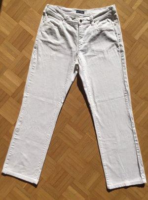 Armani Jeans Jeans a gamba dritta bianco