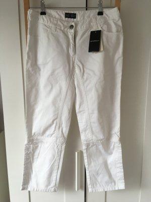 Armani Jeans Jeans coupe-droite blanc
