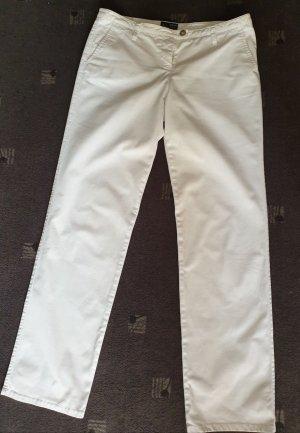 Armani Jeans Stoffen broek wit Katoen