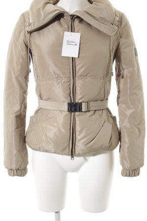 Armani Jeans Winterjacke beige Casual-Look