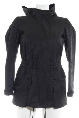 Armani Jeans Winterjacke schwarz Casual-Look