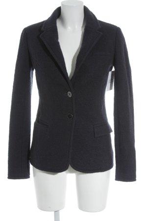 Armani Jeans Blazer en laine bleu foncé style d'affaires