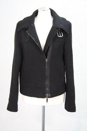 Armani Jeans Wolljacke in Schwarz