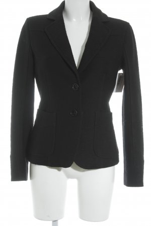 Armani Jeans Wolljacke schwarz Business-Look