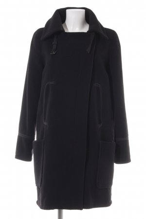 Armani Jeans Wollmantel schwarz Elegant