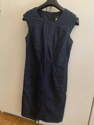 Armani Denim Dress dark blue