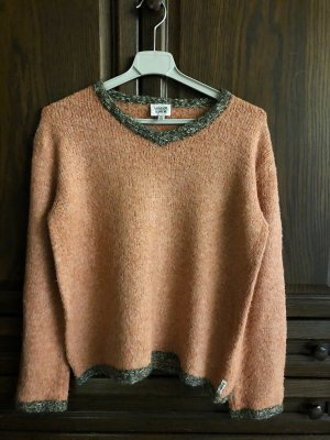 Armani V-Neck Sweater salmon-apricot
