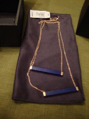 Armani Kette 100% Original blau/rosegold NEU mit Etikett