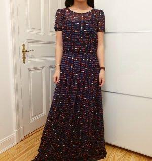 Armani Kleid neu mit Etikett Abendkleid schwarz blau rot lang Ballkleid