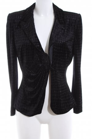 Armani Short Blazer black graphic pattern elegant