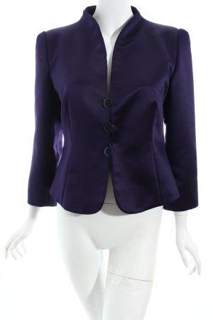 Armani Kurz-Blazer dunkelviolett Eleganz-Look