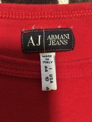 Armani Langarm Shirt rot