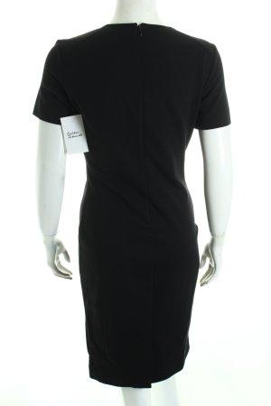 Armani Langarmkleid schwarz klassischer Stil