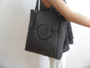 Armani Leder Tasche Schwarz NEU! Luxus Pur!