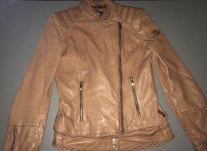 Armani Leather Jacket multicolored