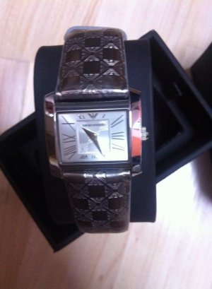 Armani Watch silver-colored