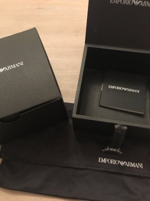 Armani Card Case black