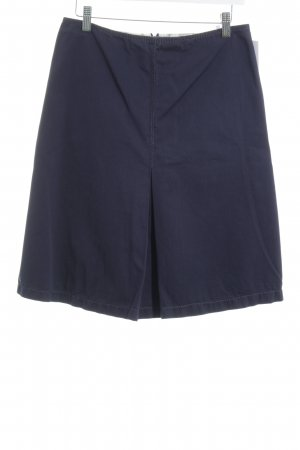 Armani Midi Skirt dark blue casual look