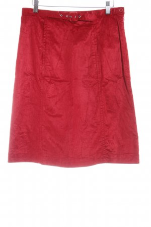 Armani Mini rok rood casual uitstraling