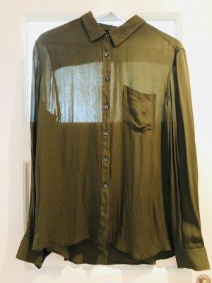 Armani Exchange Zijden blouse veelkleurig Zijde