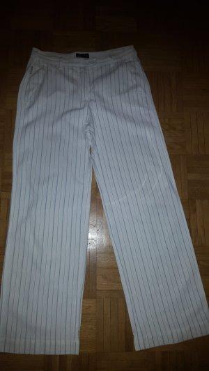 Armani Marlene Trousers white linen