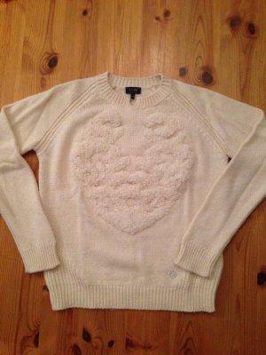 Armani Jeans Sweater cream-natural white