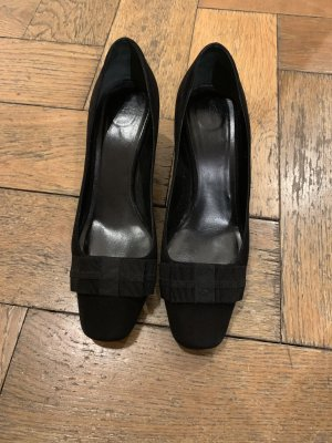 Armani Wedge Pumps black