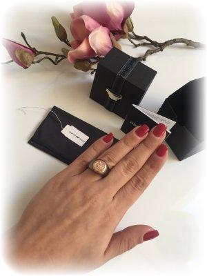 Armani Ring, Bronze / braun / Roségold / NEU