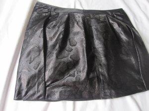 Armani Rock, NEU, edel in graphit-schwarz mit gleichfarbigem Print. Größe 38