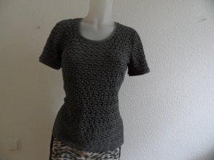 Armani Shirt gr. 40 Grau/schwarz  Luxus Pur!