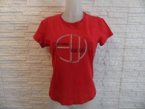Armani Shirt Gr. 40 Rot , Baumwolle