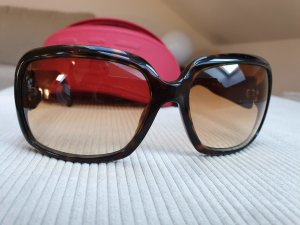 Armani Oval Sunglasses dark brown