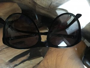 Armani Oval Sunglasses black-turquoise