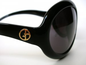 "ARMANI ® Sonnenbrille sunglasses ""Audrey Hepburn"" black – NEU"