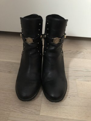 Armani Bottines à enfiler noir