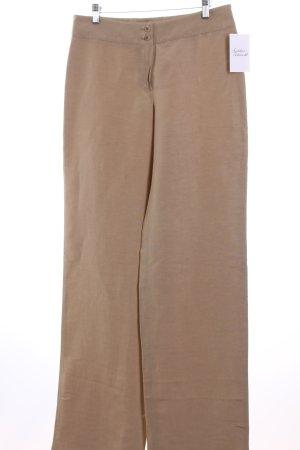 Armani Stoffhose beige schlichter Stil