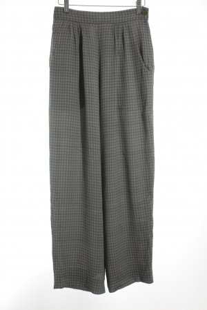 Armani Jersey Pants grey-dark grey check pattern '20s style