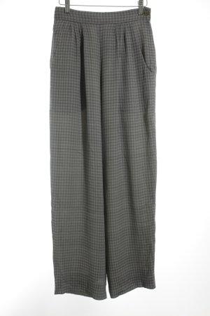 Armani Stoffhose grau-dunkelgrau Karomuster 20ies-Stil